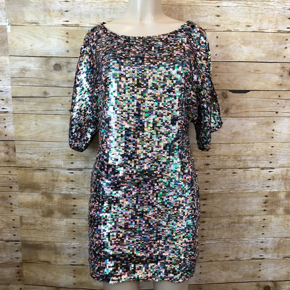 Trina Turk Dresses & Skirts - TRINA TURK | Multi Color Sequin Mini Dress